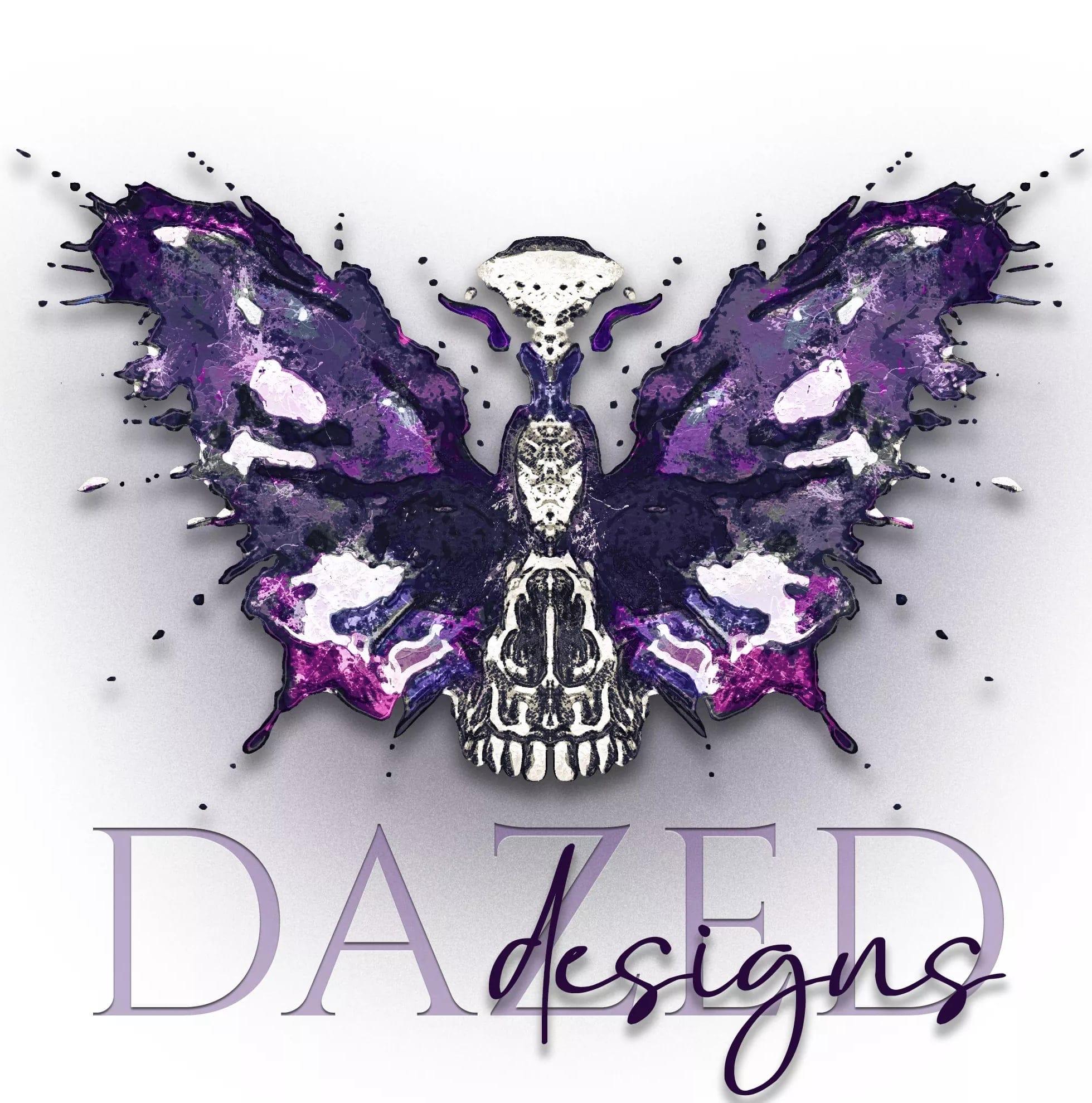 DAZED Designs, graphic design, Butterdragons